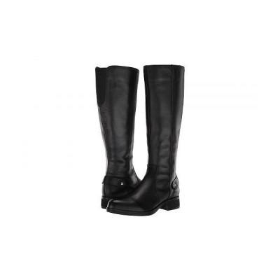 Steve Madden スティーブマデン レディース 女性用 シューズ 靴 ブーツ ロングブーツ Jax Riding Boot - Wide Shaft - Black Leather