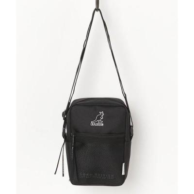 ショルダーバッグ バッグ 【 KANGOL / カンゴール 】 シンプルデザイン ミニ ショルダーバッグ