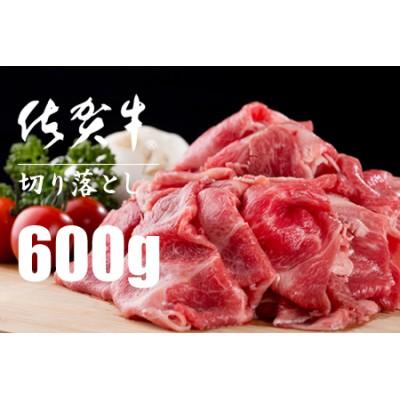 B10-130 佐賀牛切り落としスライス肉(600g)つるや食品