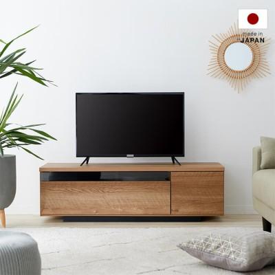 [幅120] 日本製 ローテレビ台 37V型対応 完成品 木製