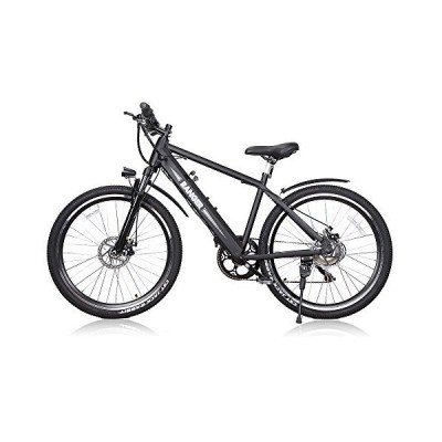 "BRIGHT GG NAKTO 26"" Electric Bike for Adults with 300W Motor and 36V 10Ah Built-in Lithium Battery,Mountain/Beach/City Electric Bicycle【"
