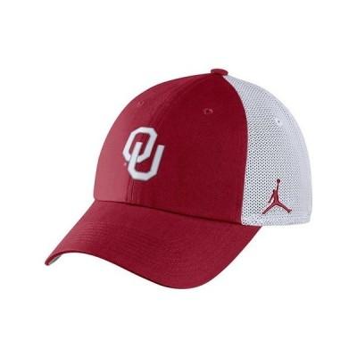 ジョーダン 帽子 アクセサリー メンズ Oklahoma Sooners Heritage 86 Trucker Cap Crimson/White