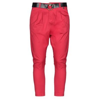 スーベニア SOUVENIR パンツ レッド XS コットン 97% / 指定外繊維(その他伸縮性繊維) 3% パンツ