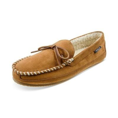 ラルフローレン スリッポン・ローファー シューズ メンズ Men's Markel V Moccasin Slippers Tan