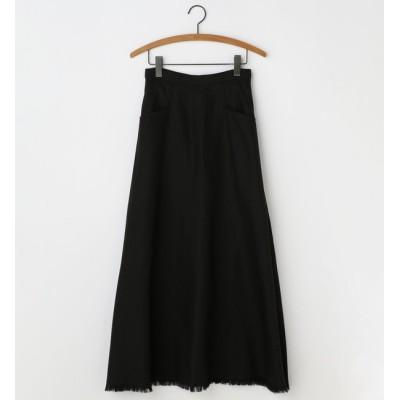 【ソフィット/Soffitto】 ワッシャーロングスカート