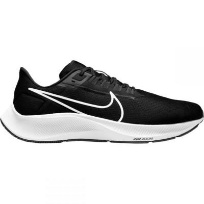 ナイキ Nike メンズ ランニング・ウォーキング エアズーム シューズ・靴 Air Zoom Pegasus 38 4E Running Shoe Black/White Anthracite Volt