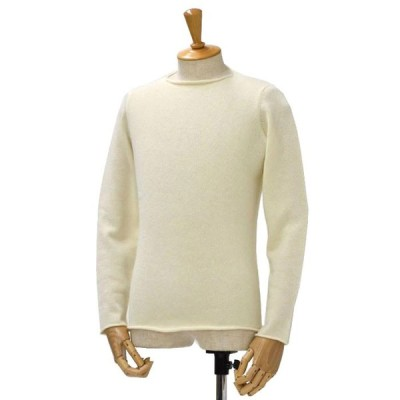 MOTHER HAND artisan【マザーハンド アルチザン】クルーネック GENT MH VAGUE 01-A wool angora ECRU(エクリュ)