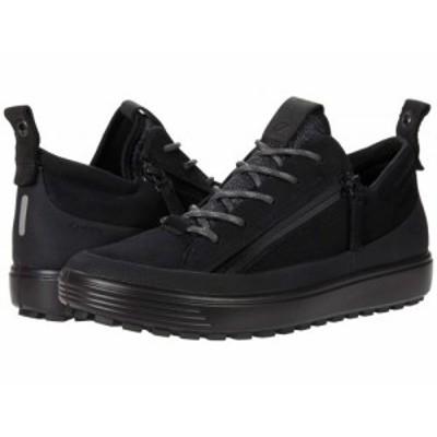ECCO エコー レディース 女性用 シューズ 靴 スニーカー 運動靴 Soft 7 Tred Zip GORE-TEX(R) Sneaker Black【送料無料】