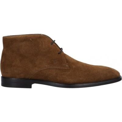 トッズ TOD'S メンズ ブーツ シューズ・靴 boots Camel