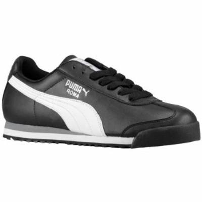 (取寄)プーマ メンズ シューズ プーマ ローマ ベーシックMen's Shoes PUMA Roma BasicBlack White 送料無料