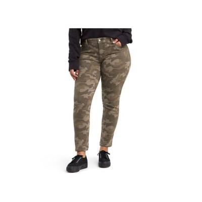 リーバイス レディース デニムパンツ ボトムス Trendy Plus Size 311 Camo-Print Shaping Skinny Jeans