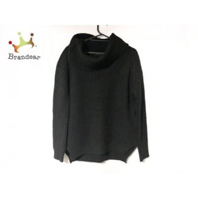 メゾン ド リーファー Maison de Reefur 長袖セーター サイズ38 M レディース 黒 タートルネック   スペシャル特価 20210719