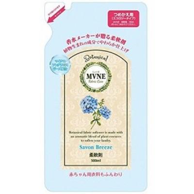 MVNE(ミューネ) 柔軟剤 シャボンブリーズの香り 詰替用 500mL