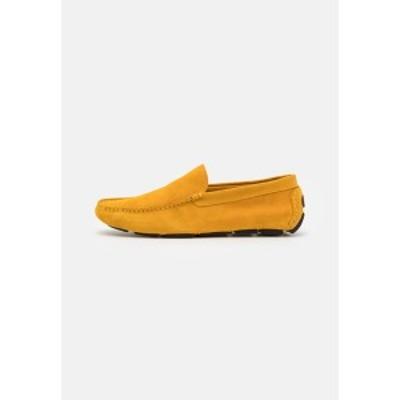 ジン メンズ サンダル シューズ Moccasins - yellow yellow