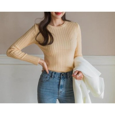 ENVYLOOK レディース ニット/セーター Ribbed Color What Knitwear
