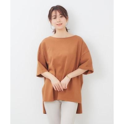 Rouge vif la cle / ルージュ・ヴィフ ラクレ 製品染めビッグTシャツ