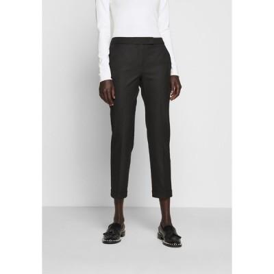 マックス アンド コー カジュアルパンツ レディース ボトムス MONOPOLI - Trousers - black