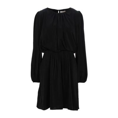 TOY G. ミニワンピース&ドレス ブラック 44 ポリエステル 100% ミニワンピース&ドレス