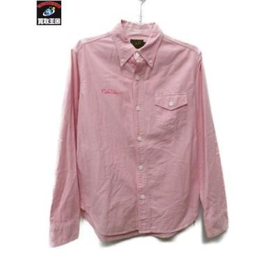 CAREE/BDシャツ/ピンク/M[▼]