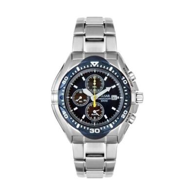 Pulsar Men's PF3647 Chronograph-Alarm Stainless Steel Watch 並行輸入品