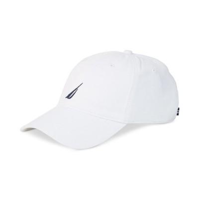 ナウティカ 帽子 アクセサリー メンズ Logo Baseball Cap White