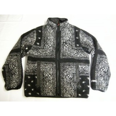 サイズS/ Supreme/シュプリーム/Reversible Bandana Fleece Jacket/リバーシブル バンダナ フリースジャケット/ナイロンジャケット/19FW/