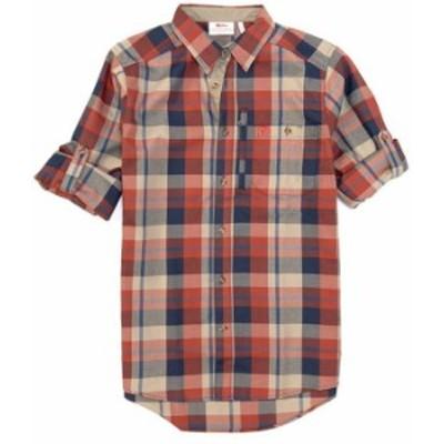 フェールラーベン メンズ シャツ トップス Fjallglim Long-Sleeve Woven Shirt Autumn Leaf