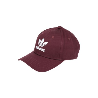 ADIDAS ORIGINALS 帽子 ディープパープル one size コットン 100% 帽子