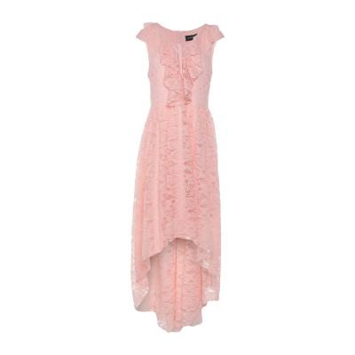 VANESSA SCOTT ミニワンピース&ドレス ピンク S レーヨン 46% / コットン 39% / ナイロン 15% ミニワンピース&ドレス