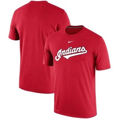 クリーブランド・インディアンス Nike Batting Practice Logo Legend Performance T-シャツ - Red