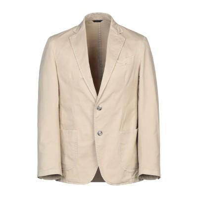 TOMBOLINI テーラードジャケット ベージュ 46 コットン 97% / ポリウレタン 3% テーラードジャケット