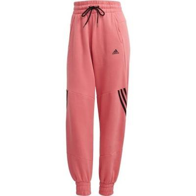 アディダス adidas レディース スウェット・ジャージ ボトムス・パンツ 3 Stripe Sweatpants Hazy Rose
