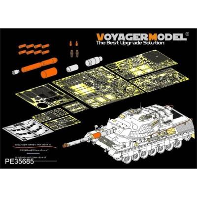 ボイジャーモデル PE35685 1/35 現用カナダ レオパルト C2エッチングセット(タコム2004用)