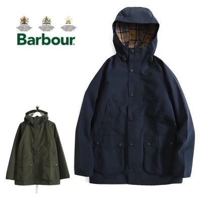 Barbour バブアー フーデッド ビデイル スリム ノンワックスジャケット MCA0508 フード付き メンズ