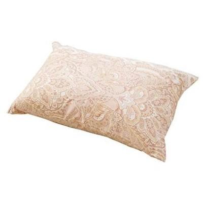 EFFECT 厳選素材で枕専門店が作った 綿100% 枕カバー ペイズリー 日本製 35×50cm ピンク