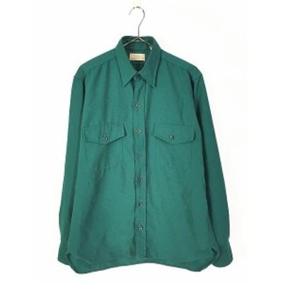 古着 80s LL Bean 「ALLAGASH FLANNEL」 アラガッシュ フランネル シャツ ネルシャツ M 古着