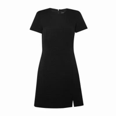 フレンチコネクション ボディコンドレス Hua Texture Fitted Dress black