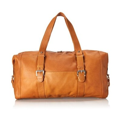 Piel Leather Satchel with Buckles, Honey, One Size並行輸入品