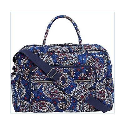 Vera Bradley Iconic Weekender Travel Bag in Fireworks Paisley, Signature Cotton並行輸入品