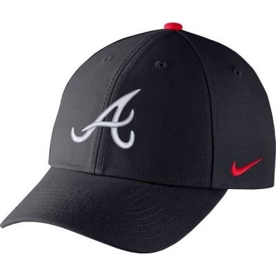 ナイキ 帽子 アクセサリー メンズ Nike Men's Atlanta Braves CLC99 Primary Logo Wool Cap Pitch Blue