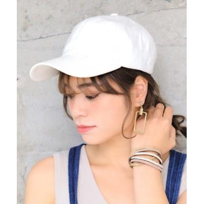14+(ICHIYON PLUS) / 深めシンプルキャップ WOMEN 帽子 > キャップ