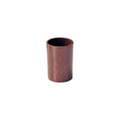 マイン 樹脂製 ナフキン立 丸 ブラウン M40-110 <PNHG801>