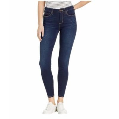 ビンテージアメリカ レディース デニムパンツ ボトムス Seamless Skinny Jeans in Dark Blue Dark Blue