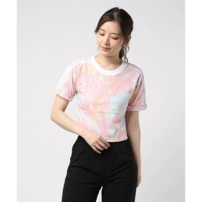 tシャツ Tシャツ adidas タイダイ クロップド トップ [CROP TOP] アディダスオリジナルス gl6363