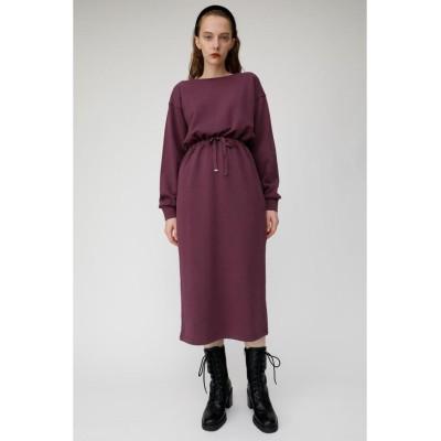 (moussy/マウジー)BLOUSING SWEAT ドレス/レディース PUR