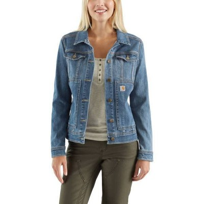 カーハート レディース ジャケット・ブルゾン アウター Carhartt Women's Benson Denim Jacket