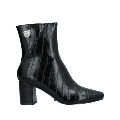 GAI MATTIOLO ショートブーツ ブラック 36 紡績繊維 ショートブーツ