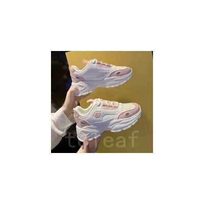 スニーカーレディース厚底ダッドシューズミッドカット歩きやすいカジュアルデイリー靴スポーツ2020新作人気オシャレ