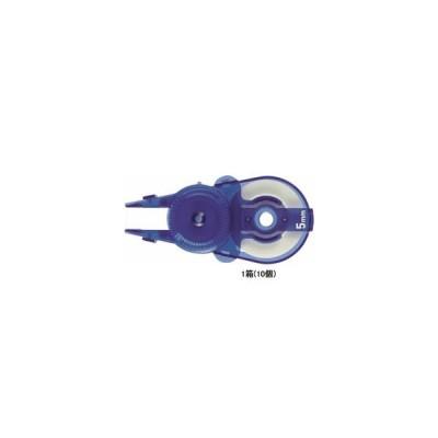 プラス/ホワイパースライド交換テープ5mm ブルーWH-115R-10P/49-562