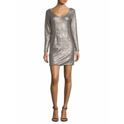 ジェイバイジェイゴッドフリー レディース ワンピース Metallic Mini Dress